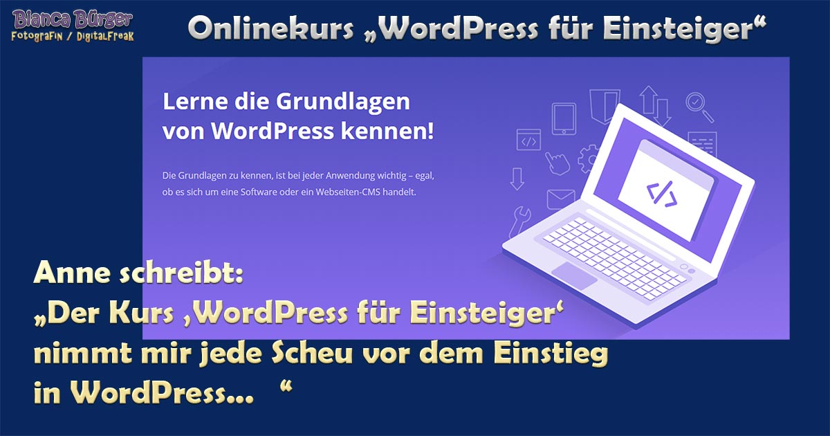 Kurs - WordPress für Einsteiger 2