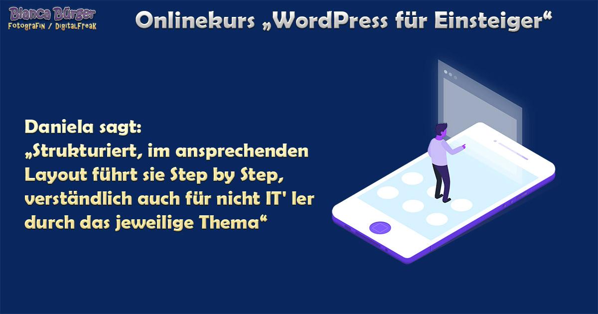 Kurs - WordPress für Einsteiger 5