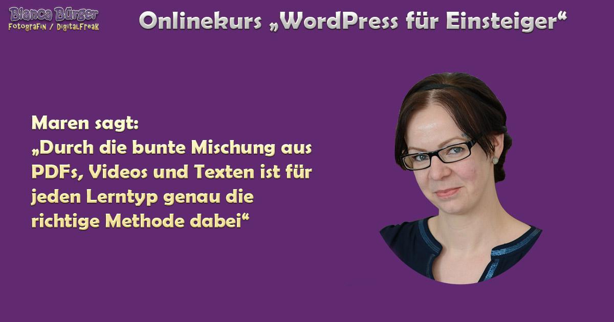 Kurs - WordPress für Einsteiger 3
